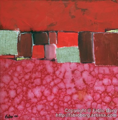 RED SQUARE (SOLD)