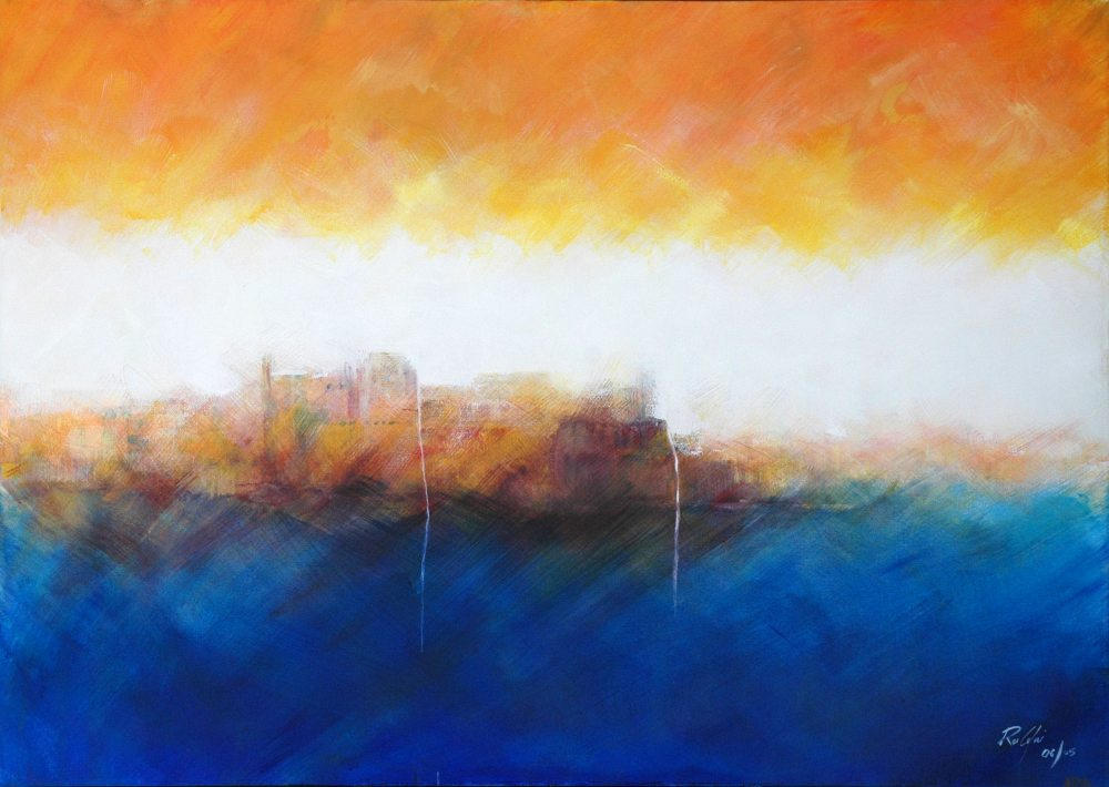 Rupert Cefai - Fortress on Water  [SOLD]