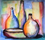 Colours in the bottles